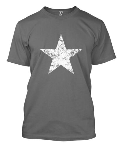 Distressed Star 4th of July Fireworks Patriotic Party Merica Mens T-Shirt