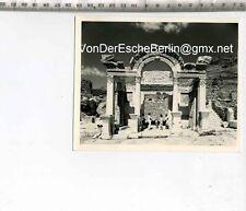 ORIGINAL PRESSEFOTO: HADRIANUS MABEDI TEMPEL in Efes. IZMIR TÜRKEI