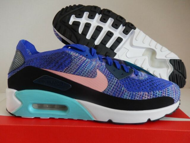 New* Nike Air Max 90 2.0 Flyknit Women's Size 8 Oreo 881109