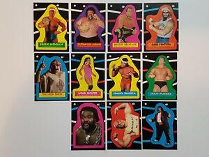 WWF-Pro-Wrestling-Stars-Stickers-1985-TOPPS-Singles-You-Pick-Choose