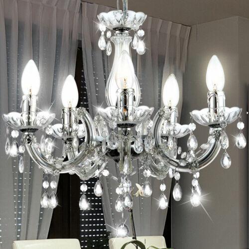 LED Luster Decken Pendel Hänge Lampe Leuchte Kronleuchter Wohn Zimmer Big Light