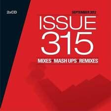 Mastermix Issue 315 Twin DJ CD Set Mixes ft Salsa & Latino Dance Party Megamixes