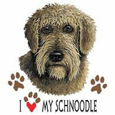Schnoodle Love T Shirt Pick Your Size Youth Medium to 6 X Large