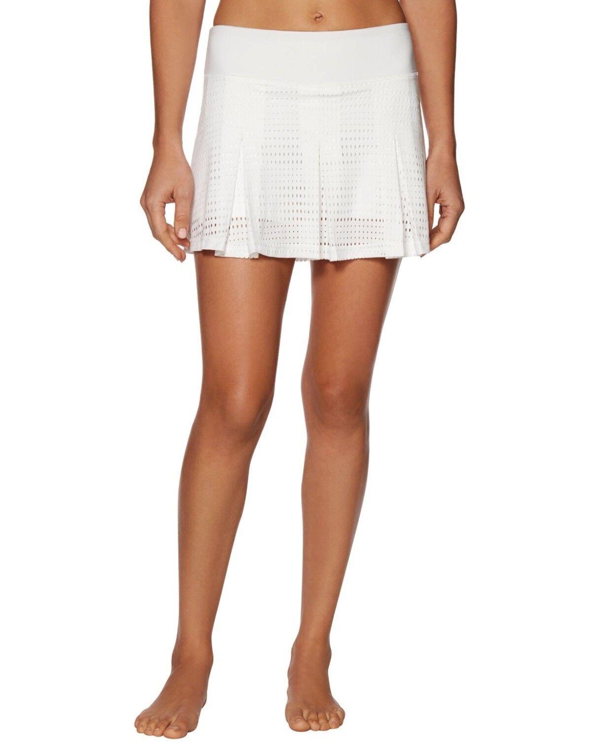 New Shape Tennis Skirt Short Activewear Size S White