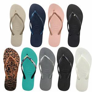 Details zu Havaianas Slim Damen Zehentrenner Flip Schlappen Flops Sandalen Slipper Schuhe