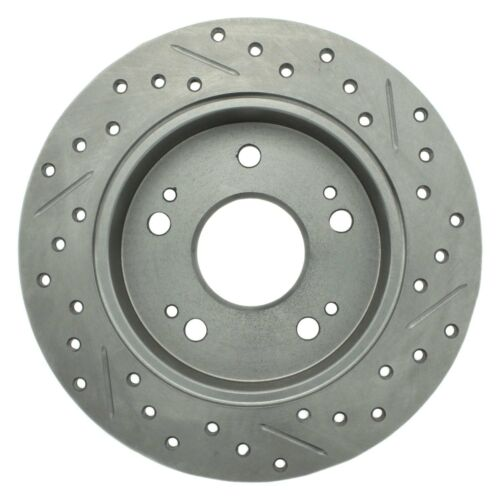 For Acura ILX 13-15 Brake Rotor Select Sport Drilled /& Slotted 1-Piece Rear