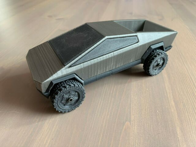 3D Printed Tesla CyberTruck with functioning wheels   eBay