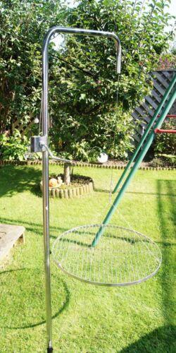 60 cm Grillrost Edelstahl Grillgalgen Grill nur 10 mm lichter Stabstand