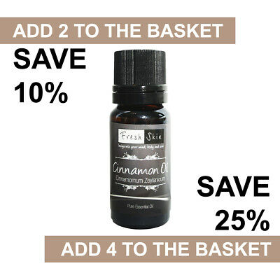 Cinnamon Essential Oil 10ml - 100% Pure & Natural Essential Oils - Aromatherapy
