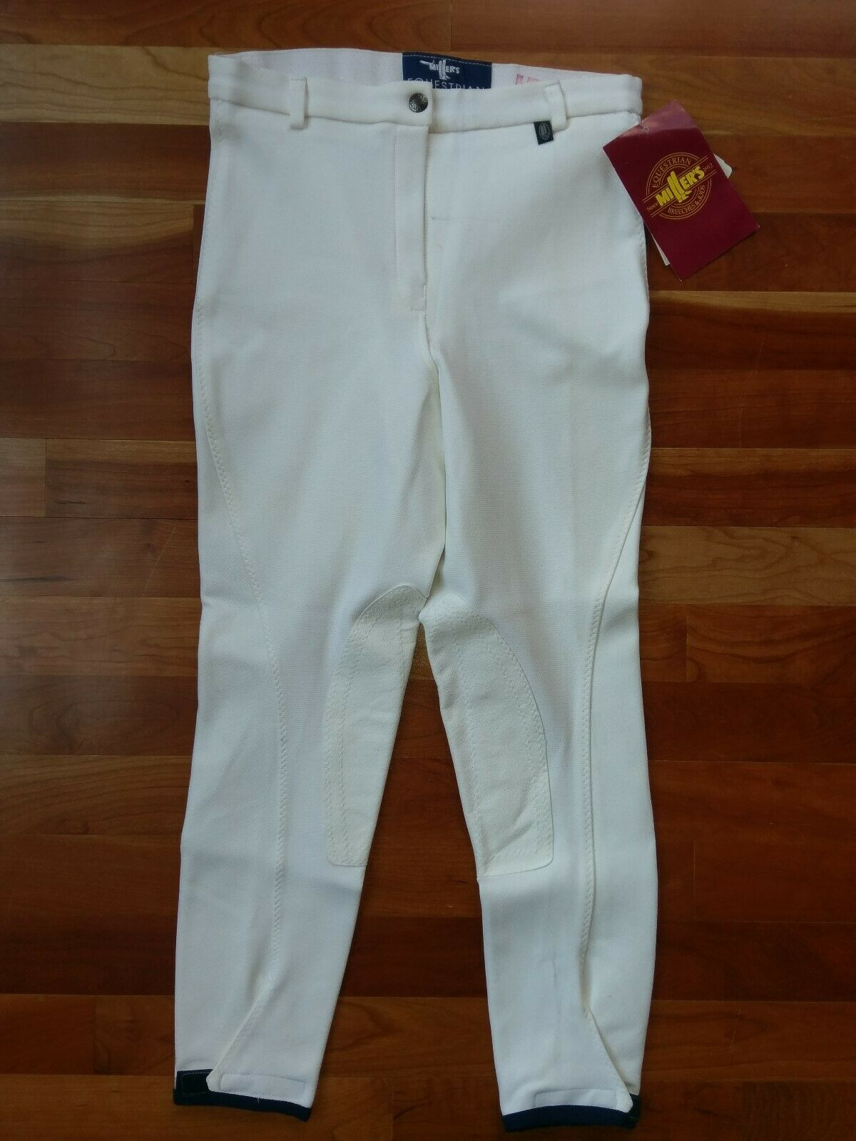 Grand Prix Lexington Breeches 24L Slate Blau Full Seat Equestrian Riding Pants