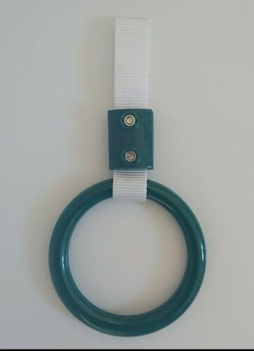 dark green circle to hang off tow hooks or interior JDM style small tsurikawa