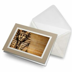 Greetings-Card-Biege-Egypt-King-Tutankhamen-Egyptian-16105