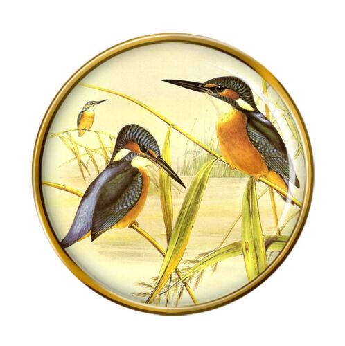 Kingfisher Lapel Pin Badge