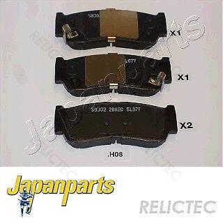 SWAG Disc Brake Pad Set Rear Axle Fits HYUNDAI Santa Fe Suv 58302-2BA20
