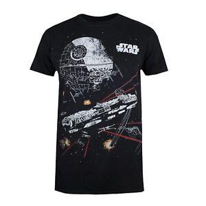 Star-Wars-Death-Star-Comic-Mens-T-shirt-Black-Size-S-XL