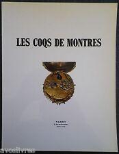 COQS DE MONTRES. COLLECTION COINON 1982 / Daniel MAROT Tardy Horlogerie Bijoux