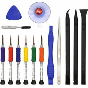 14 in 1 Opening Tools Kit Metal Screwdriver Repair Tools Set for iPhone 7 8 Plus