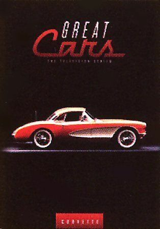 DOCUMENTARY-GREAT CARS: CORVETTE DVD NEW