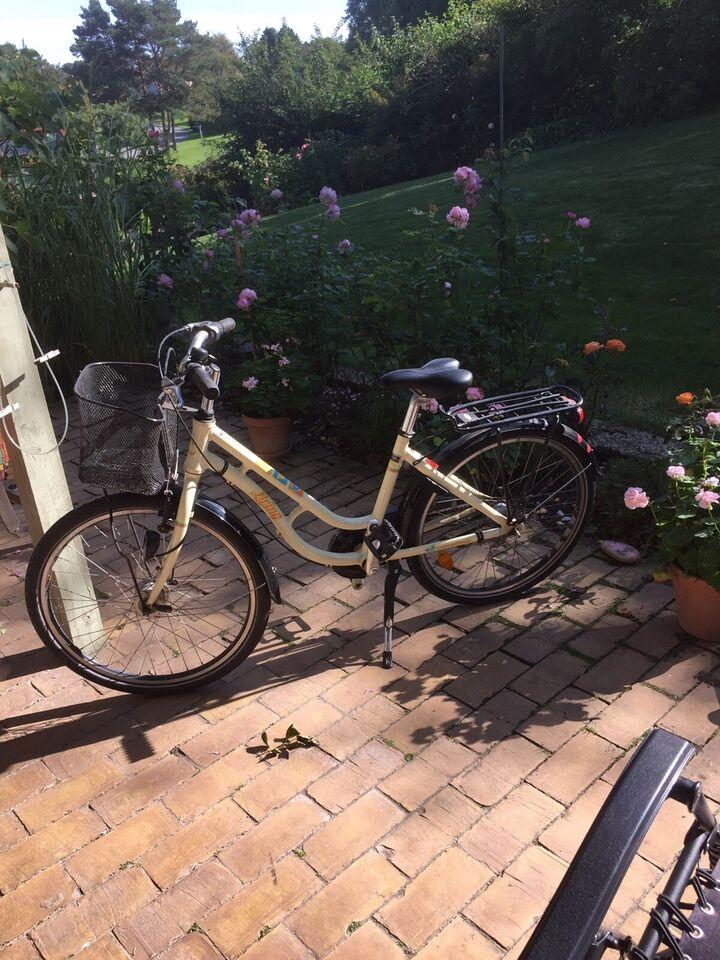 Pigecykel, classic cykel, Living