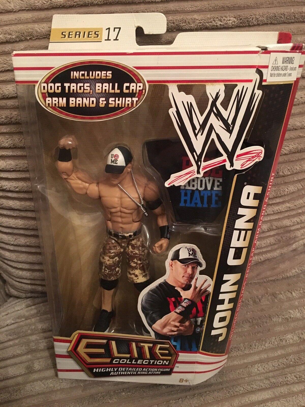 Cena all/'PIASTRINE-Mattel Accessori per WWE Wrestling Figure