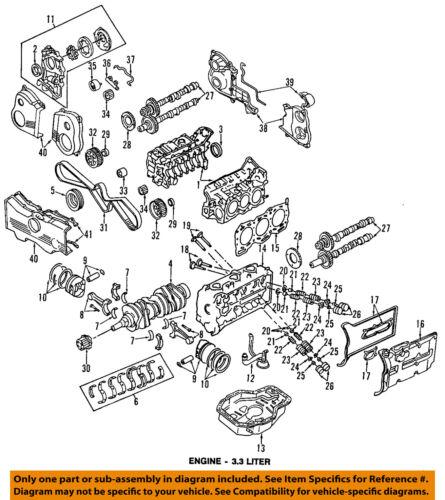 SUBARU OEM 92-97 SVX-Valve Cover Gasket 13270AA031