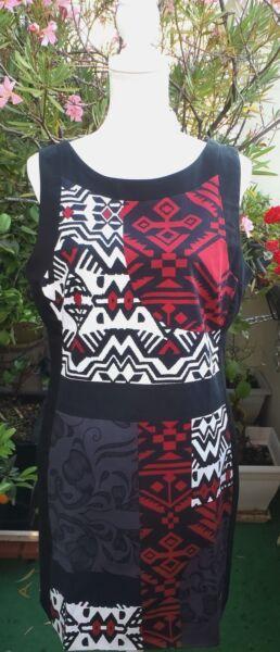Robe DESIGUAL noire,rouge, gris-ardoise, blanche T.44 - QUASI bcfae86a1aa1