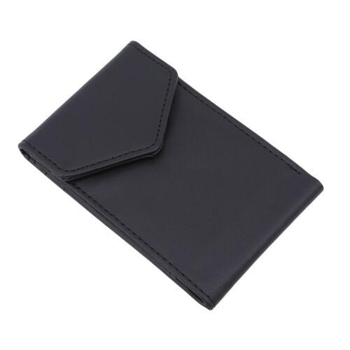 Money Clip Coin Front Pocket Slim Credit Card Holder D Mens Minimalist Wallet