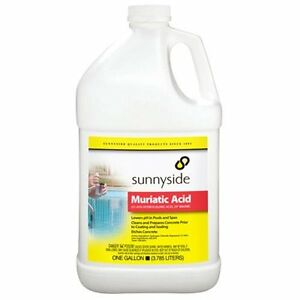 Details about Muriatic Acid Fast-acting Cleaner for Brick & Mortar 1 Gallon