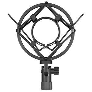 Neewer-Black-Universal-Mic-Suspension-Anti-Shock-Mount-Microphone-Holder-Clip
