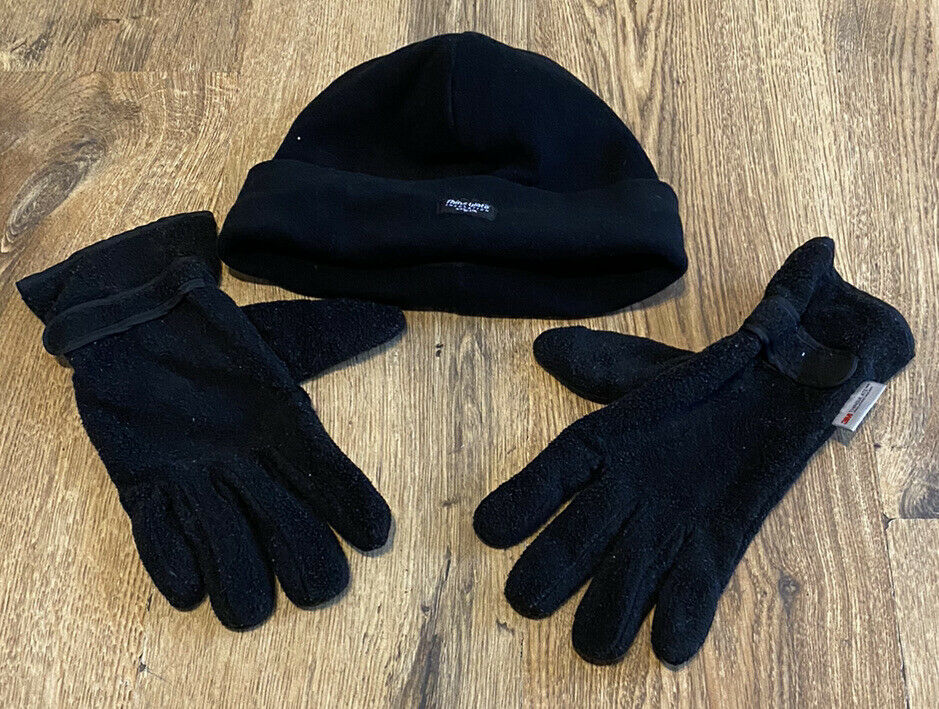 Thinsulate Set Of Gloves And Hat One Size Unisex