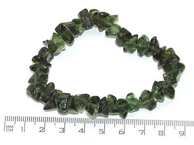 MOLDAVITE BRACELET polished - 23grams #OTHER1146
