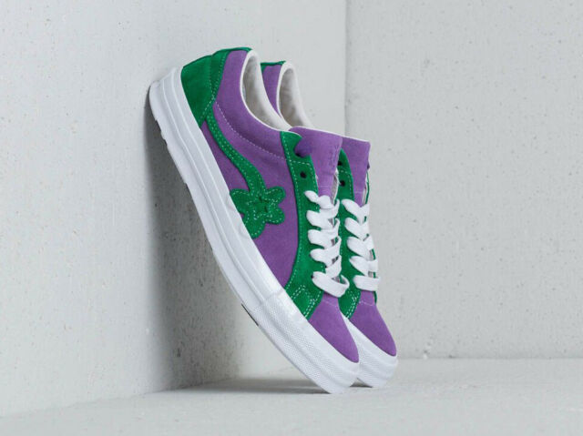 volume large lovely design hot-selling fashion Converse x Tyler One Star Golf Le Fleur OX Purple Heart Jolly Green  Sneakers 9