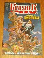 Punisher P.O.V. Book 3 by Marvel Comics (Paperback 1991)<