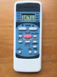 Details about Electrolux Air Conditioner Remote Control ESE09HRA ESE12HRA  ESE12HRA ESE12HRBA
