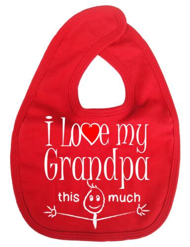 Qui a besoin de santa j/'ai grand-père bébé-bavoirs 100/% coton doux mignon cadeau