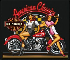 Harley davidson motorcycle diner pin up girls signsportsterfat boy image is loading harley davidson motorcycle diner pin up girls sign freerunsca Images