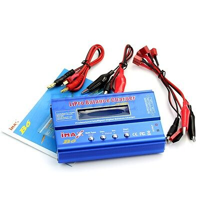 New LCD Screen Digital RC Lipo NiMh Battery Balance Charger iMAX B6