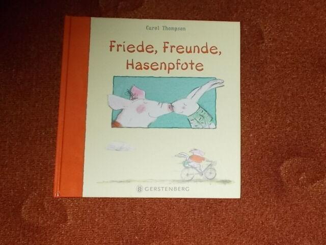Friede, Freude, Hasenpfote, Freundschaft, Gerstenberg