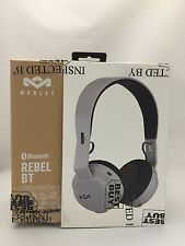 House of Marley Rebel BT On-Ear Bluetooth Headphones (EM-JH101-GYA) - Grey