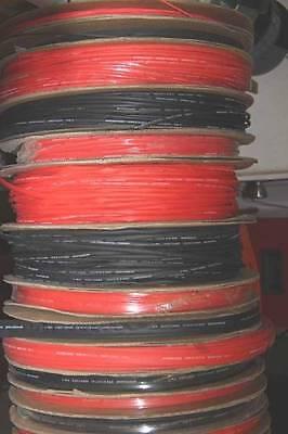 """50 Feet x 1/4""""/6mm 2:1 Single Wall Polyolefin Heat Shrink Tubing - Red"""