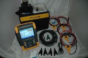 FLUKE-435-II-SERIES-POWER-QUALITY-ENERGY-ANALYZER-2019-Model-FULL-warranty-32GB