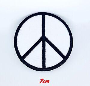 Paix-Symbole-Cnd-contre-la-Guerre-Badge-Brode-Patch-Thermocollant-053