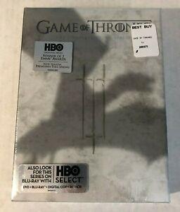 Game-of-Thrones-Season-3-DVD-2016-5-Disc-Set-Brand-New-Factory-Sealed