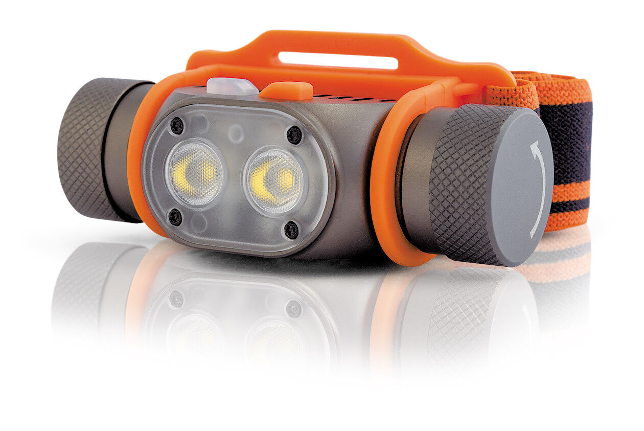 YLP LED Panda 2R Headlamp LED YLP Neutral Weiß 800lm Professionals USB Rechargeable ad7052