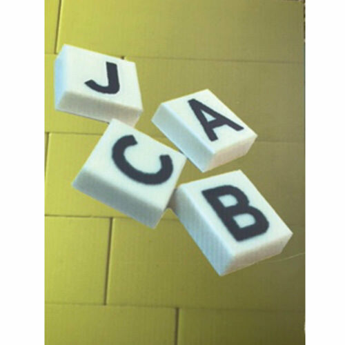 PRINTED BRICKS Authentic Lego/'s printed with Alphabet Letters