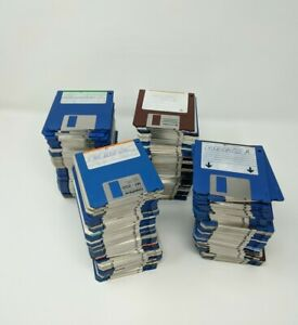 Commodore-Amiga-3-5-034-Floppy-Disk-Lot-of-200-Sold-As-Blanks