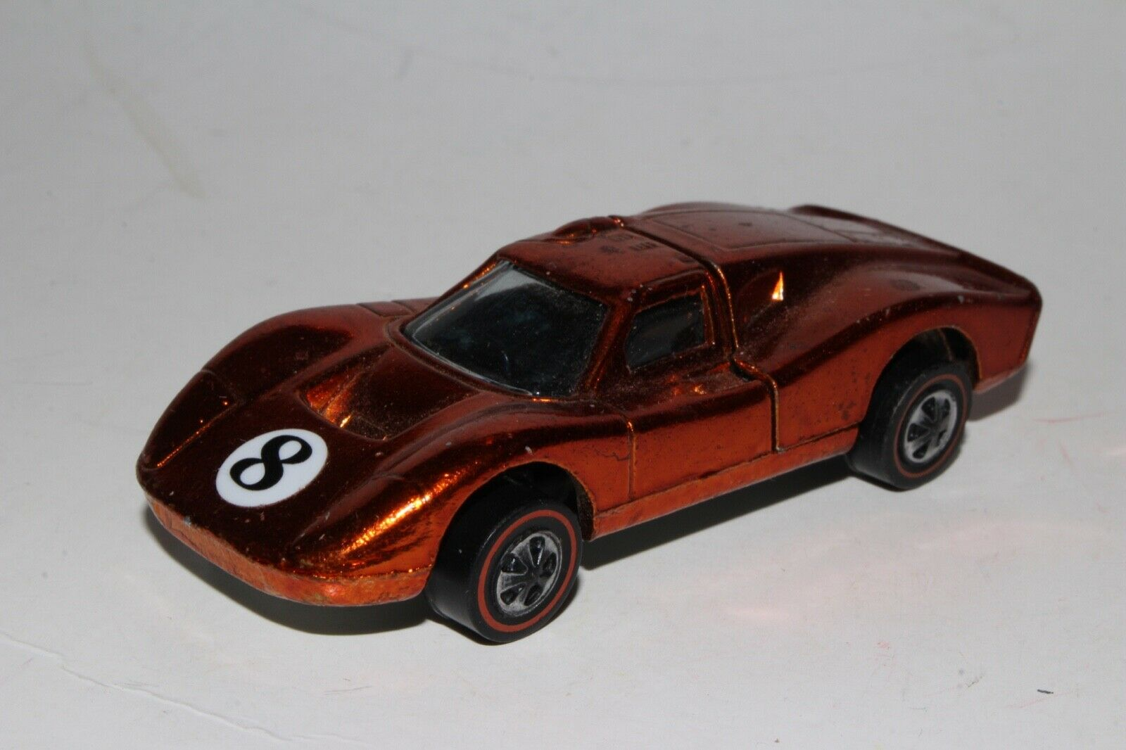 Hot Wheels rojoline Ford Mkiv ,Metálico Naranja, Eeuu ,Buen Estado, Original