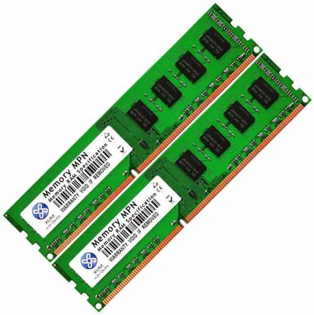 Memory Ram 4 Asus Motherboard Desktop P7H55D-M EVO PRO P7H55-M LE New 2x Lot