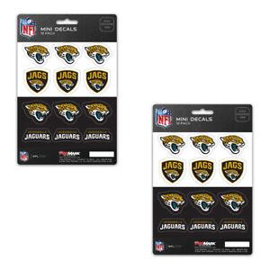 f40889f5 Details about New 24 Premium Die-Cut Mini Vinyl Decal / Sticker Pack -NFL  Jacksonville Jaguars