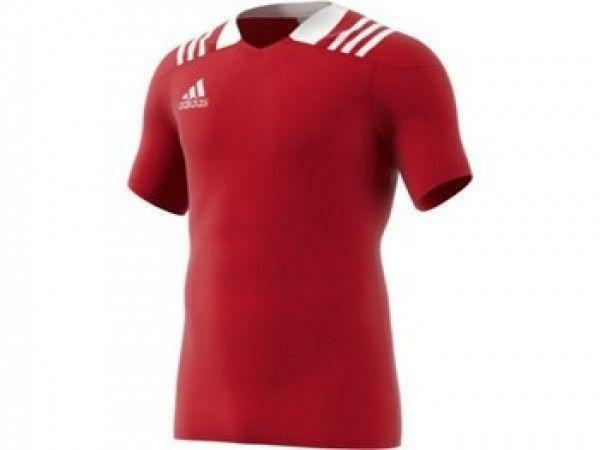 Adidas 3S Rugby F Jersey Red Shirt - BS3188